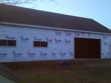 Large Garage Construction
